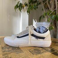 Vans Old Skool Pro Sneakers Marshmallow/Black Men's Classic Skate Shoes Size 8