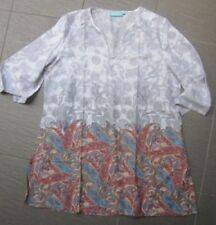 Paisley Regular Size Peasant Tops for Women