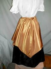 New listing Renaissance faire novelty 2 skirt sale One long skirt with a 4 point over skrit