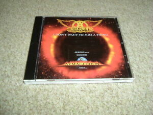 AEROSMITH - I DON'T WANT TO MISS A THING - CD SINGLE - 4 TRACK JAPANESE IMPORT