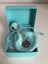 More details for tiffany & co. heart tag keyring