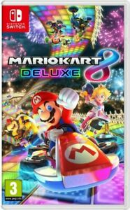 NOS Mario Kart 8 Deluxe Nintendo Switch Game NEW Sealed.