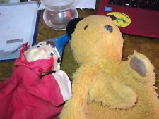 Hand puppets.  Noddy and Sooty. Vintage