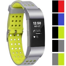 Greatfine Fitbit Charge Smart Watch Band Fitness Bracelet Strap for 2 Protector