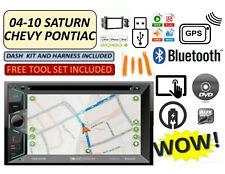 04-10 CHEVY PONTIAC SATURN BLUETOOTH AM/FM/USB/AUX/DVD RADIO GPS