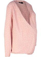 Umstandsbluse m Stillfunktion Gr. 42 Vintagerosa Damenbluse Shirt Tunika Neu