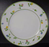 Studio Nova English Garden Dinner Plate TPC14 Yellow Roses Pink Blue