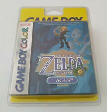 Zelda Oracle Of Ages Game Boy Color GameBoy Neuf Blister Rigide New Sealed