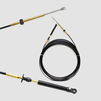 21ft Teleflex OMC 479 Johnson Evinrude Throttle Shift Control Box Cable CC20521