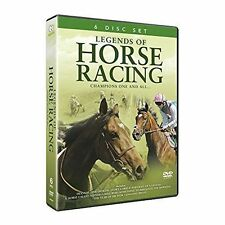 Legends of Horse Racing 6 DVDset Frankel Arkle Nijinski Mill Reef Sir Ivor