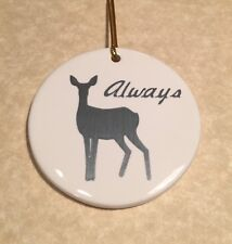 ALWAYS DOE SEVERUS SNAPE LOVES LILY EVANS HARRY POTTER FANS CHRISTMAS ORNAMENT