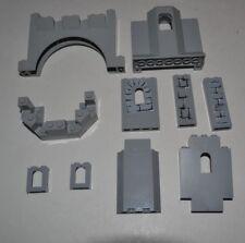 Lego Castle Pieces Lot Panel Light Bluish Gray 6066 60808 4444 48490 90195 ACYC