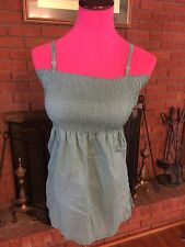 Mossimo Green Summer Blouse Size Small Ok-990
