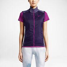 NWT Nike Women's L Hyperflight Tour Performance Full Zip Vest $85 640403 535 NEW