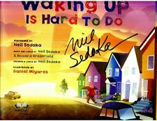 Neil Sedaka signed Waking Up Is Hard To Do 1st printing HC book with 3 song CD