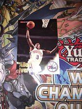ALLEN IVERSON 1996/97 NBA HOOPS #295 ROOKIE CARD PHILADELPHIA 76ERS RC MINT