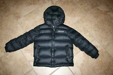 Marmot Boy'S Guides Down Hoody, Puffer Jacket, Black Eeuc Size S