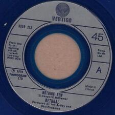 "Bethnal(Blue 7"" Vinyl)Nothing New-Vertigo-6059 213-France-1978-Ex/NM"