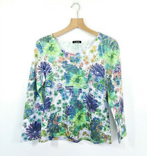 LA STRADA Size S Top Shirt Floral Long Sleeves EUC