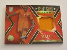 2015 Panini Select Soccer: yaya cínico Ivory Coast Select Stars red Jersey