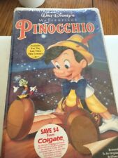 Walt Disney's Masterpiece Collection -Pinocchio VHS - Factory Sealed!
