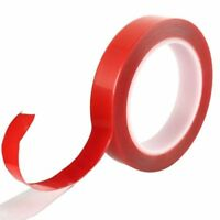 3m x 4 6 8 10 12 15 20mm AUTO ACRYLIC CLEAR DOUBLE SIDED FOAM ADHESIVE TAPE