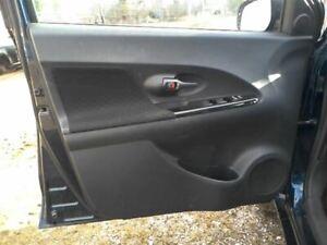 2010 10 Scion XD Driver Left Front Interior Door Trim Panel Black 36440