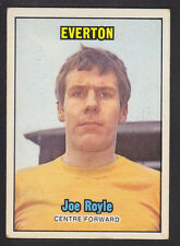 A&BC - Footballers (Orange 170-255) 1970 - # 202 Joe Royle - Everton