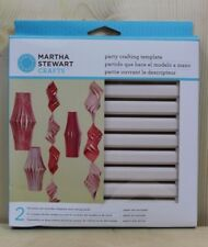 Martha Stewart Crafts Paper Lantern Template Party Crafting Cutting Tool Set New