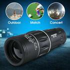 Night Vision 16x52 Optics Lens Camping Hiking Hunting Monocular Telescope