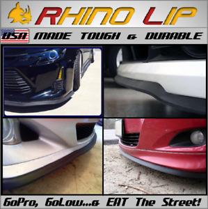 RhinoLip * Bumper Guard Scuff/Scrape Protector Stance Front Fascia Chin lip Trim