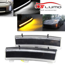 CREE LED Barra Diurna Luces Parachoques Reflector compatible 2006-09 NISSAN 350z
