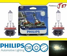 Philips VIsion 30% H11 55W Two Bulbs Head Light Low Beam Replace Legal DOT Lamp