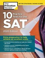 Princeton Review 10 Practice Tests for the SAT 2020 : Extra Preparation to He...