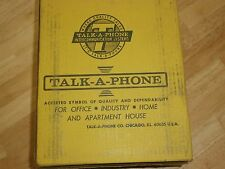 Talk-A-Phone Klr-2M Sub Station Intercom,Nib/Nos