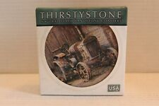 "Thirstysone Sandstone Coasters #Tssp1 ""Down on the Farm"" Set of 4 New in the Box"