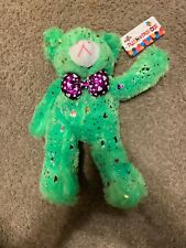 Green Plush Bear Plush Paradise