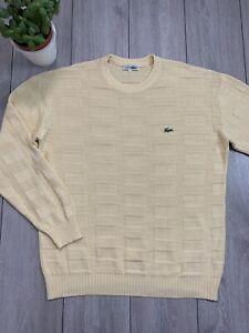VTG CHEMISE LACOSTE Mens Knit Jumper Sweater Sweatshirt   Size 5   Large L