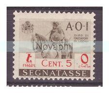 AOI  1942 -  SEGNATASSE  Centesimi 5    NUOVO **