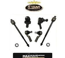 New Ball Joints Inner Outer Tie Rods for Mazda MX5 Miata 90-98 W/ Power Steering