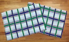 Vintage Whisper Soft Mills Pillowcase Standard Set Plaid Check RN 49266 AB