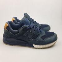 Men's NEW BALANCE '530 Encap' Sz 6 US Shoes Blue Leather | 3+ Extra 10% Off
