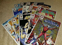 (13) Archer & Armstrong Valiant Comics Comic Book Lot Bagged/Boarded (1992-1994)