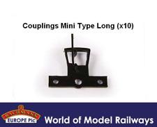 Bachmann 36-026 Couplings Mini Type Long x10 OO Gauge
