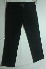 New Womens Black Woolrich Holly Hills Corduroy Pants Size 10   W34XL31