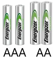 More details for energizer aa aaa rechargeable batteries 500 700 800 2000 2300 mah pre charged