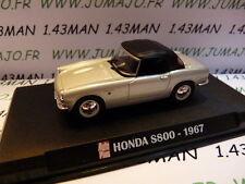 AP14N Voiture 1/43 IXO AUTO PLUS : HONDA S800 1967