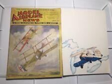 VTG Model Airplane News Magazine April 1932 CESNA BRISTOL PLANS ADVERTISING RARE