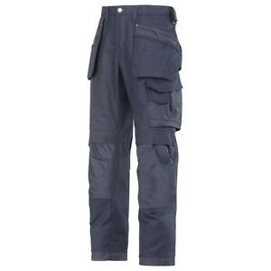 SNICKERS 3214 WORK TROUSERS (HOLSTER POCKETS) NAVY. BRAND NEW WITH TAGS