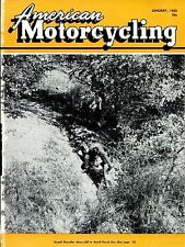 AMERICAN MOTORCYCLING magazines 60 old issues motorcyclist clubs 1955-1959 DVD